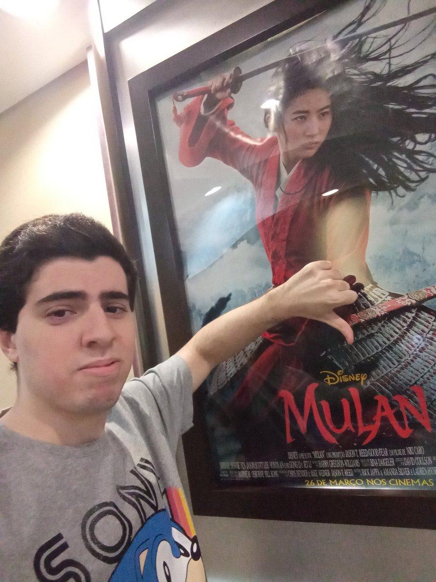 Me desculpem mas não estou nem um pouco empolgado pra esse live action da Disney, sem o Mushu não vai ser legal.  #Mulan #Disney #Cinemark #DesonrapratuDesonrapratuavaca #WaltDisney #Disneystudiosbrpic.twitter.com/WMP5pHsEPV – at Plaza Shopping