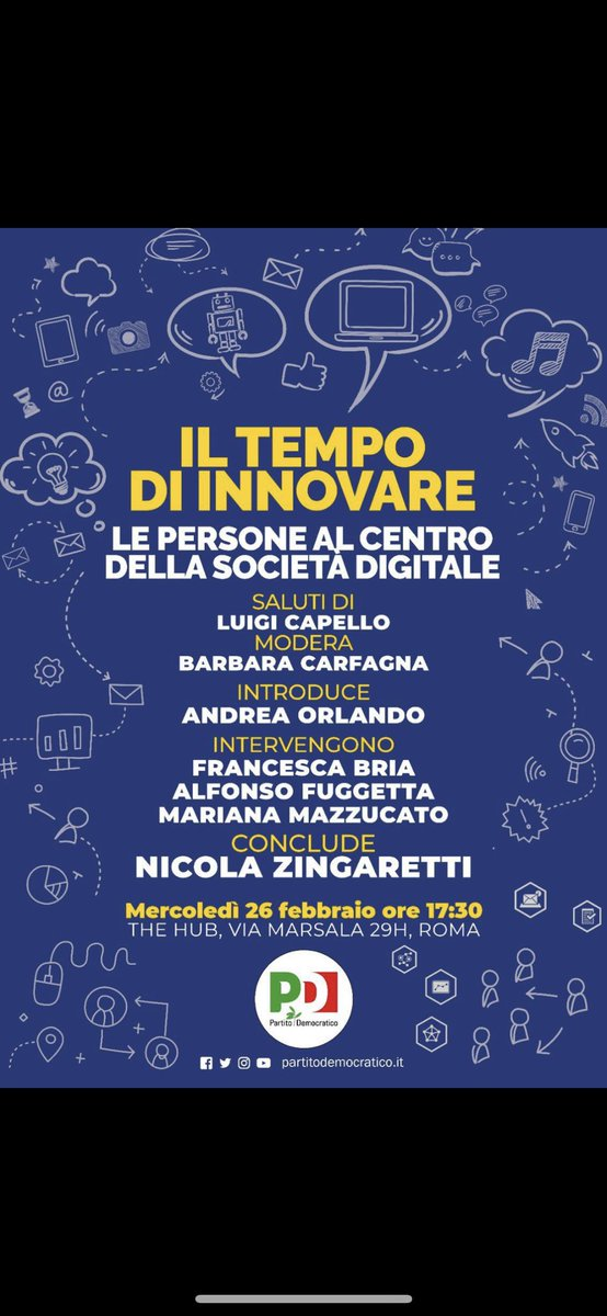 test Twitter Media - Next week in Rome. https://t.co/jtsnqEusaK