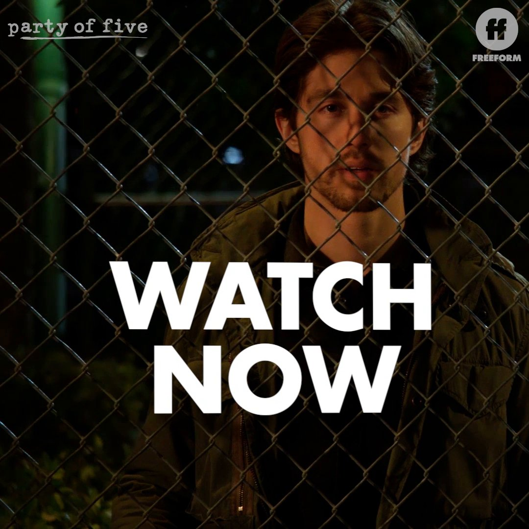 Watching them leave without him. 😔 #PartyOfFive ___________ Watch the latest episode now on @hulu.