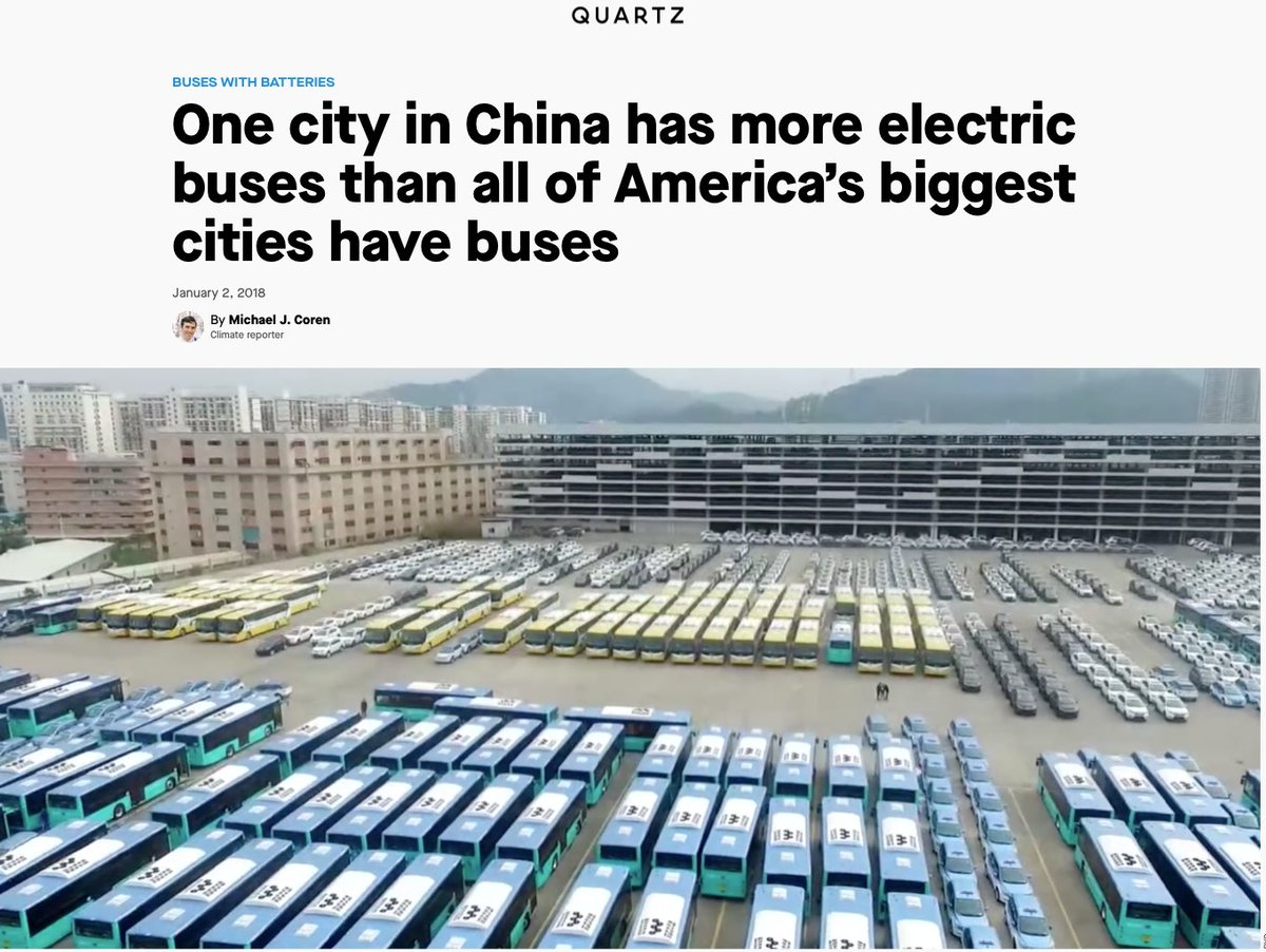 "Yep, electric LGVs easier than HGVs. Yep, forget hype – Tesla Semi, JLP backing Siemens power lines over special lorry lanes to send down the volts. But I did Google ""electric HGVs"". Seems DAF, Daimler, Hyundai, BYD, Toyota and, er, 16,000 buses in Shenzhen can't be all wrong pic.twitter.com/iajaIB2Hyq"