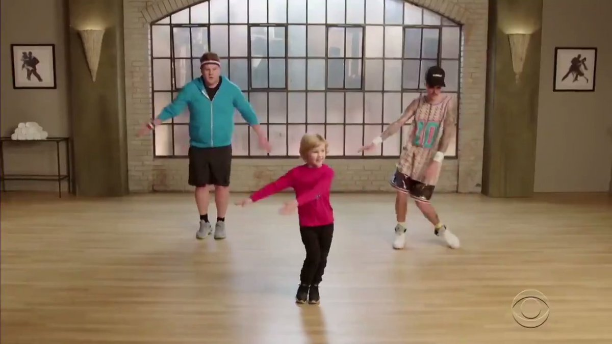 Toddlers teaching @justinbieber and @JKCorden how to dance is the pure content your timeline needs  Full #Toddlerography clip: https://youtu.be/FUHlDlL_LbY pic.twitter.com/TQqEPyC1Bc