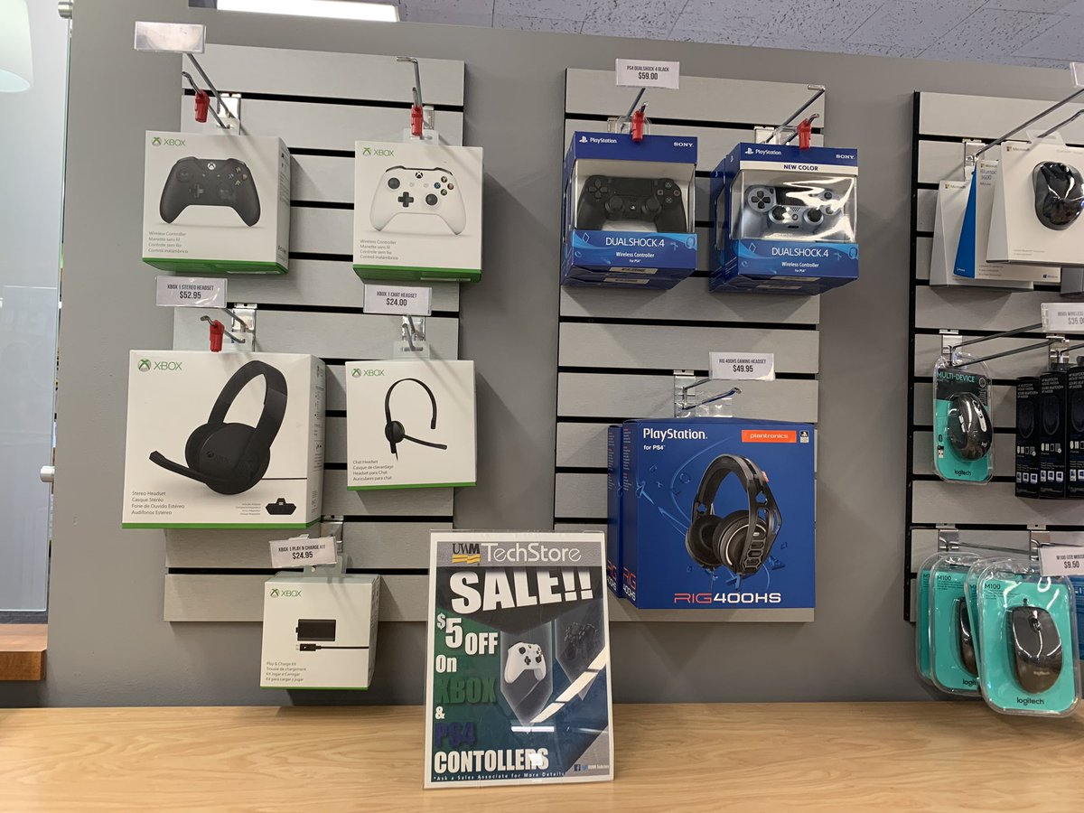 ATTENTION ALL GAMERS   We are stocked with all your PS4 & Xbox needs. Swing by today and get $5 off your controller.pic.twitter.com/b0QSRVkykr