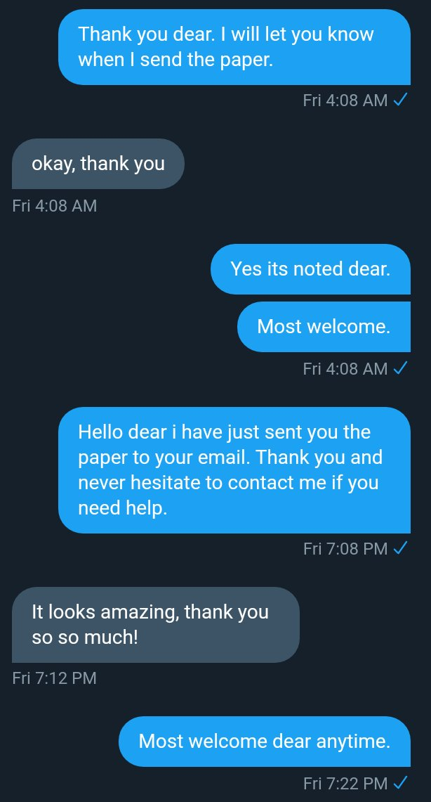 Never allow yourself to struggle with an assignment when  @custompapers6 is here to help. We guarantee quality work and on time delivery. Kindly  us today with your paper details. #fairprices #qualitywork #readytohelp Try us today for quality work. Hmupic.twitter.com/7HGl6JMZa6
