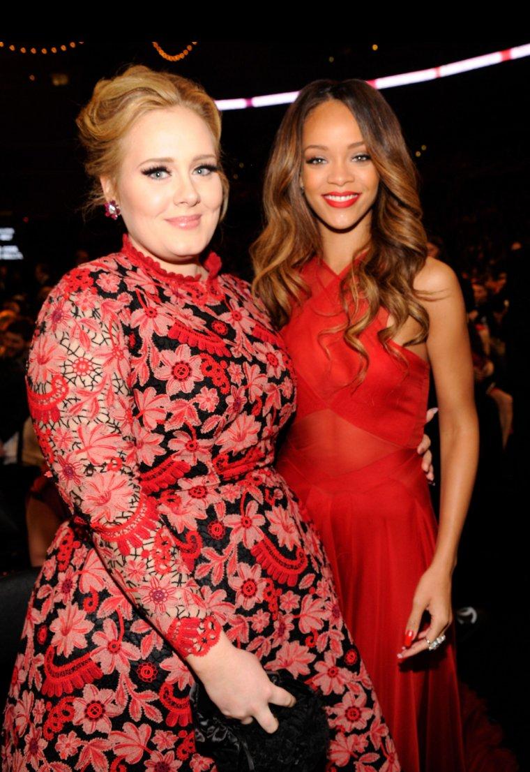 Happy Birthday Rihanna Adele &Rihanna February 2013