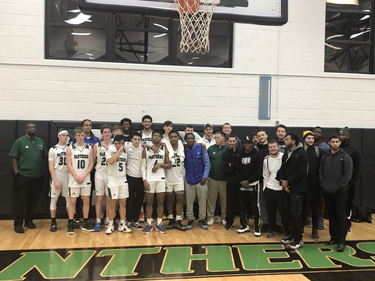 Past and present Panthers after a great victory tonight. #WeAreMehlville