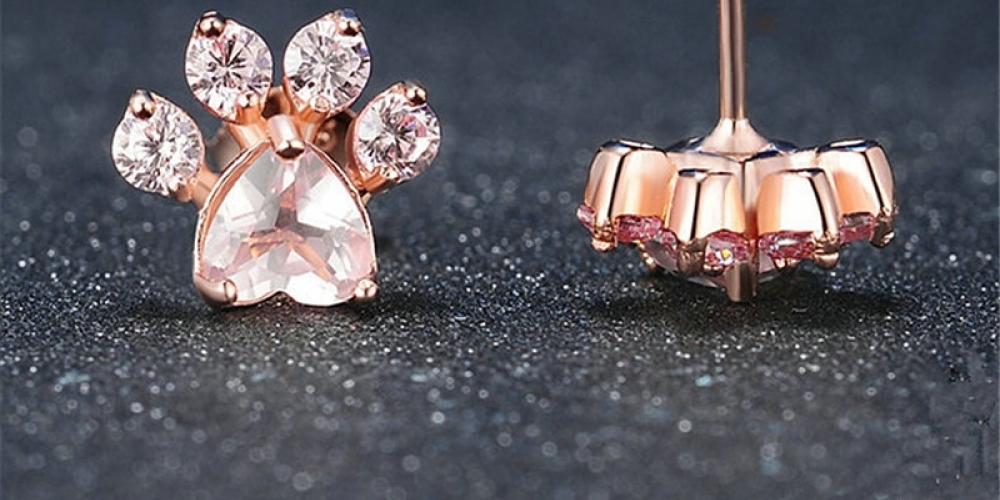 #lingerielife #lingerieshoot Women's Splendid Paw Shaped Steel And Crystal Earrings https://velvettemptations.com/womens-splendid-paw-shaped-steel-and-crystal-earrings/…pic.twitter.com/GL5bZfBr78