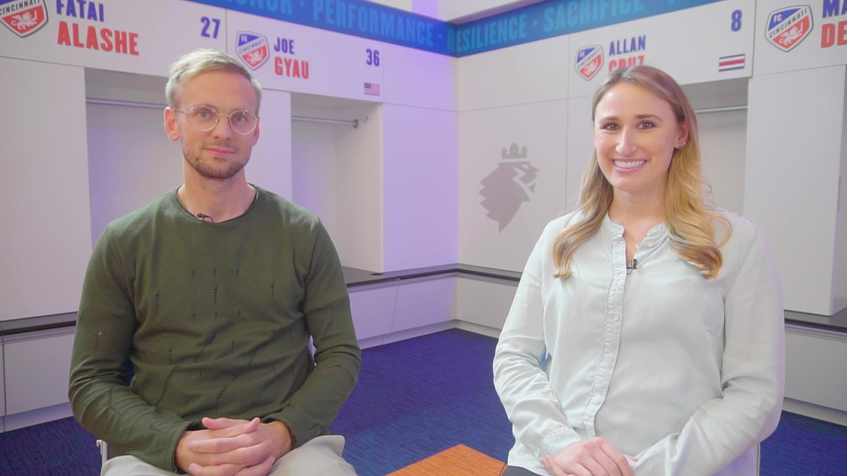 .@siemdejong sits down with @Alex_Stec_ to discuss his move to @MLS and what he can bring to #FCCincy's attack.