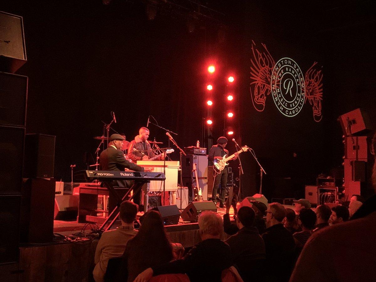 Enjoying the majestic soul groove of @BookerTJones live at @theramkat.