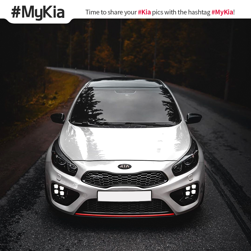 Always ahead of the curve. #MyKia #Ceed <Photo courtesy of Instagram user @ d.a.a_13>