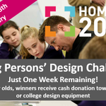 There is just ONE WEEK to go for the #Homeof2030 Young Persons' Design Challenge - for 11-25 yr olds to design an inspirational and innovative home for future generations. #2030vision from @MOBIEhome @BRE_Group @designcouncil @RIBAComps https://t.co/5ps1XmYY22