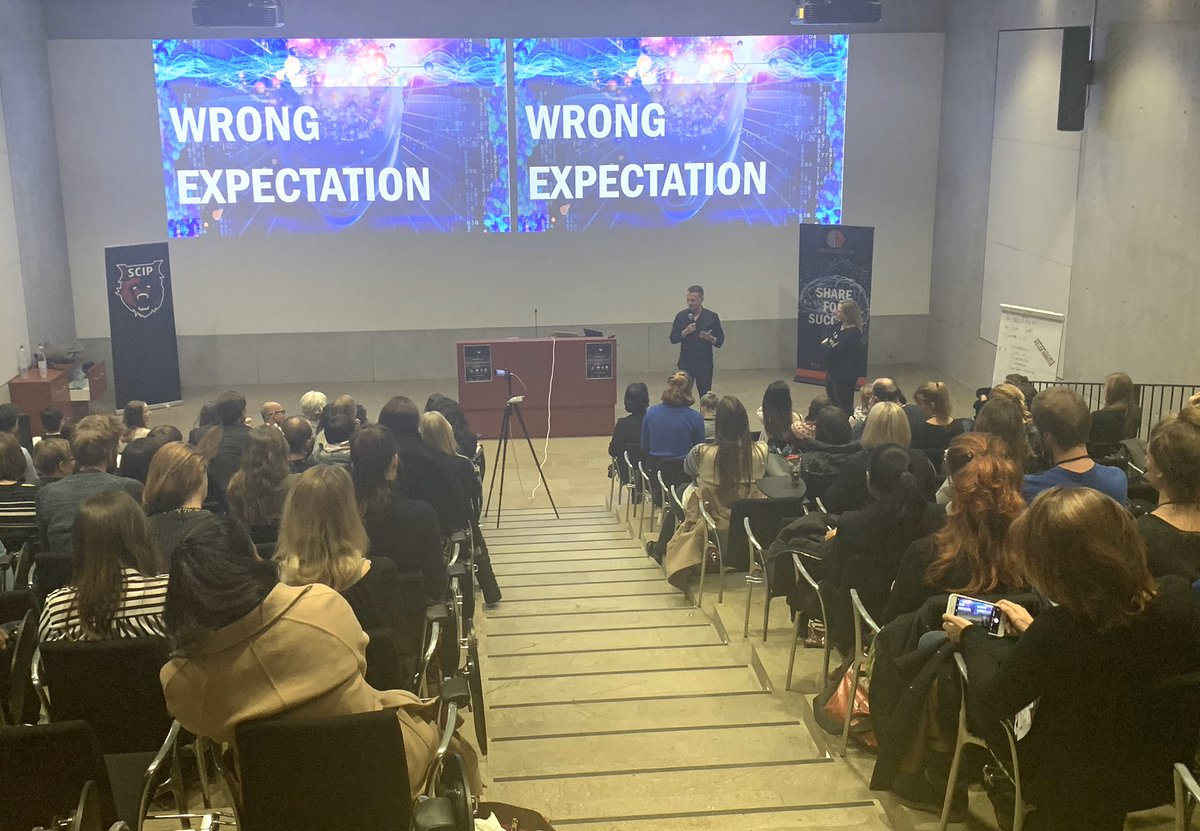 What we communicate about #AI effects our perception about it. We need to do a reality check and stop talking about robots & terminators. @marisaTPP and @andy_fitze at @women_in_ai event The Dark Side of AI  #womenintech #empower #AIrealitycheck #futureoftechnology pic.twitter.com/QOIh1Mt1zQ