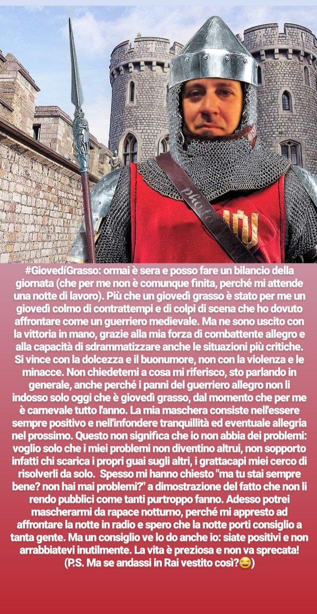#giovedigrasso