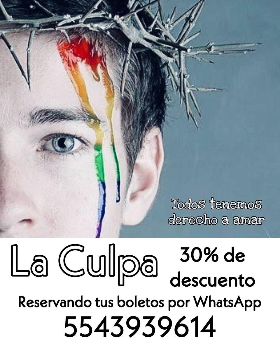 Reserva para este sábado y obtén un 30% de descuento! 8:45 pm Foro 37 - Londres 37 Colonia Juárez. #loveislove#lovewins#pride#morelovelesshate#consumeteatropic.twitter.com/Sb8IVO9wOC