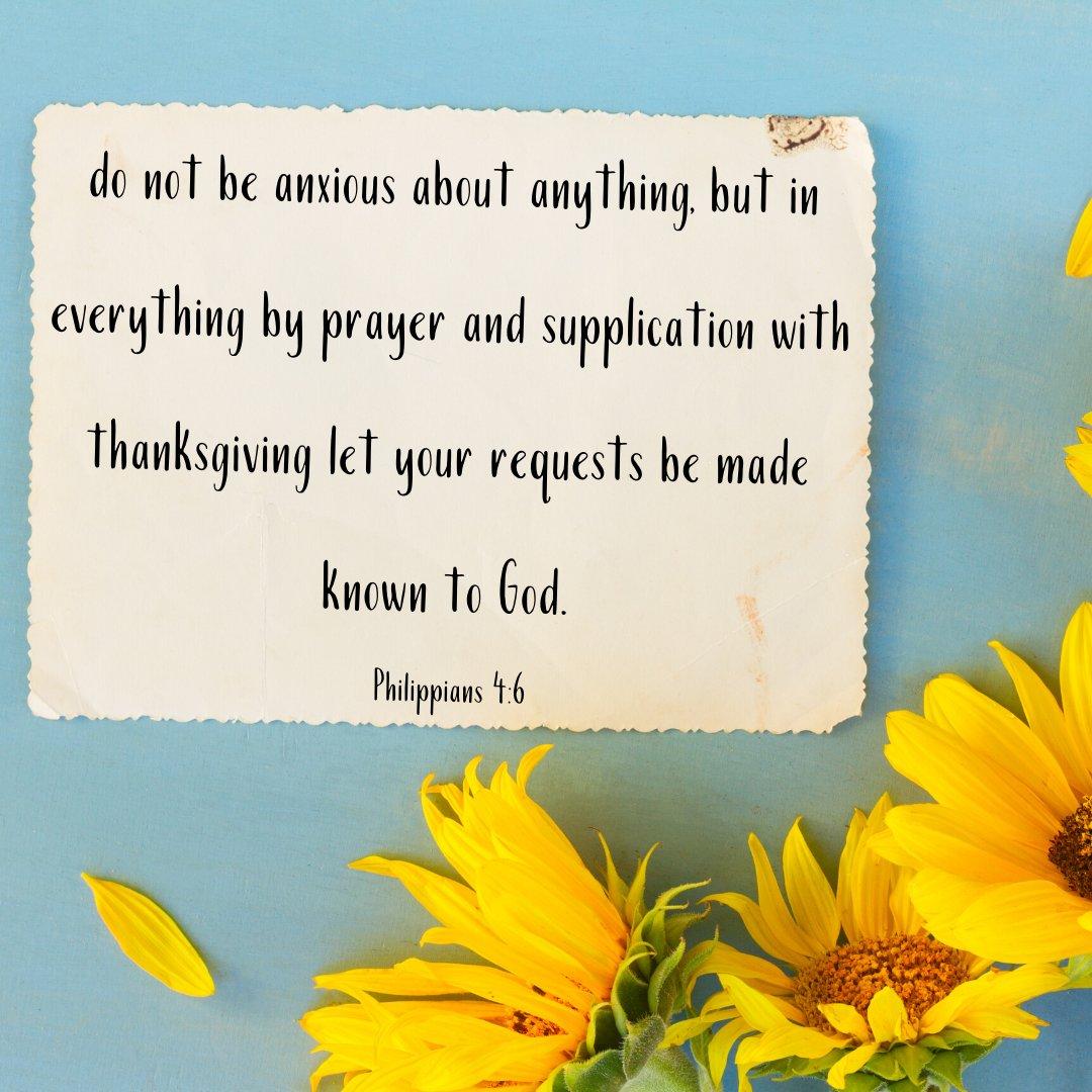 #verseoftheday #philippians #peace #thanksgiving #God #nofear #noanxiety #truthpic.twitter.com/WIBPiaVTAS