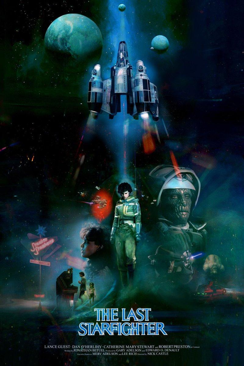 The Last Starfighter (1984) by Christopher Shy #movieposterpic.twitter.com/xZ48g4U0p4