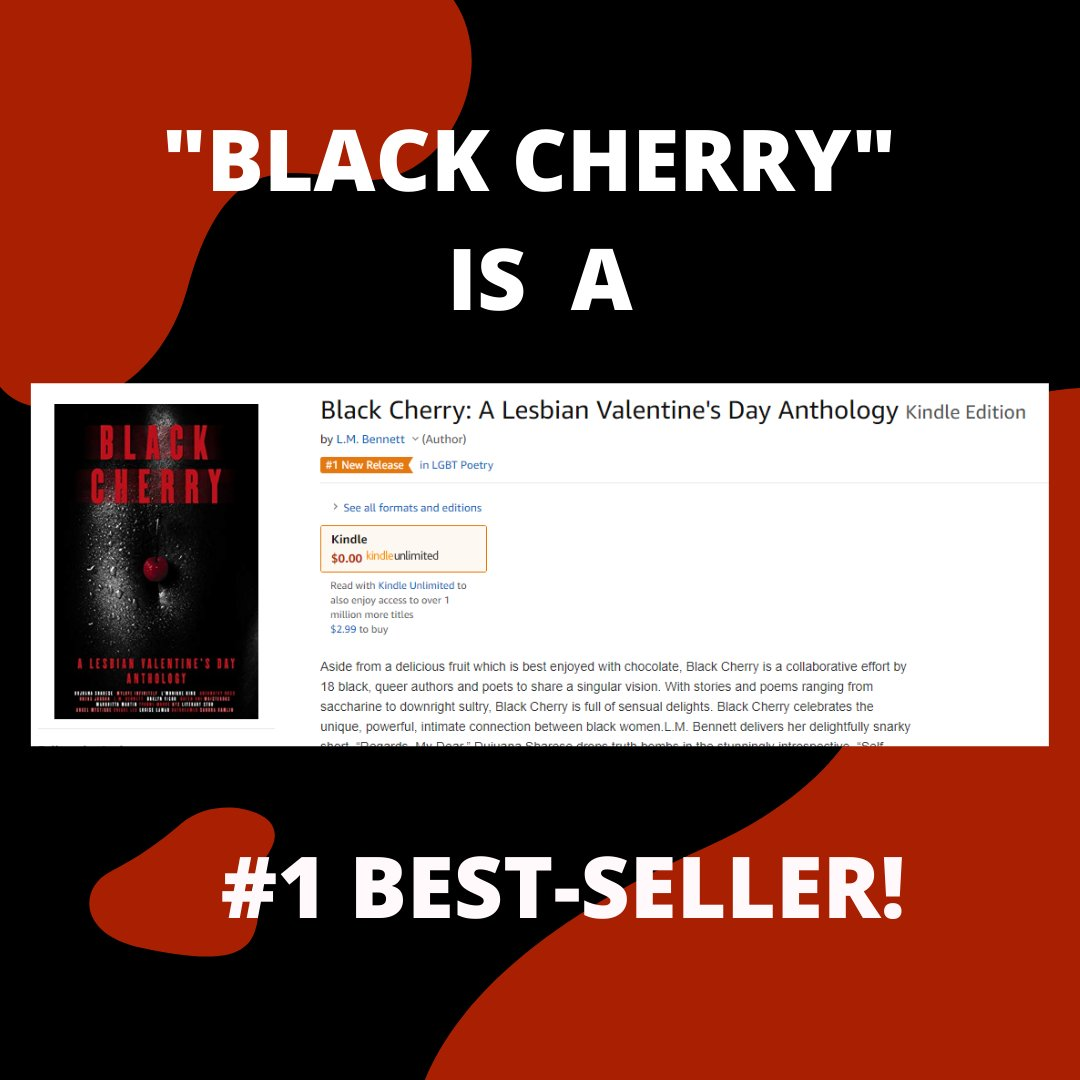 "Did you forget #ValentinesDay2020? Buy her ""Black Cherry: A Lesbian Valentine's Day Anthology."" I promise this will get you back into her good graces. #blackcherryanthology #blacklesbians #blacklesbianauthors #blackgirlswrite #blacklesbianlove #ebooks #bookspic.twitter.com/mvc2XpwbwD"
