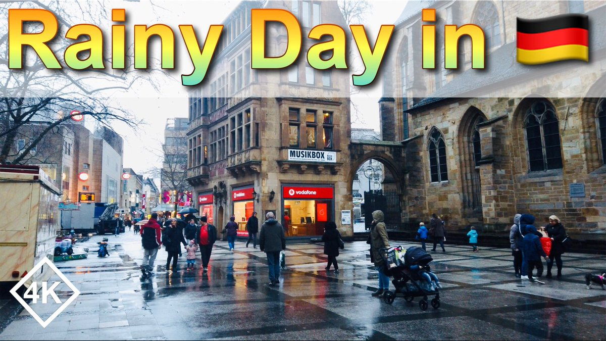 A Rainy Day Walk in Winter - Dortmund City Walking Tour - West Germany City Walk https://youtu.be/5dLrjSsTlRQ #rainydays #dortmund #walking #WalkingStreet #city #germany #rainypic.twitter.com/NLu02EqdTy