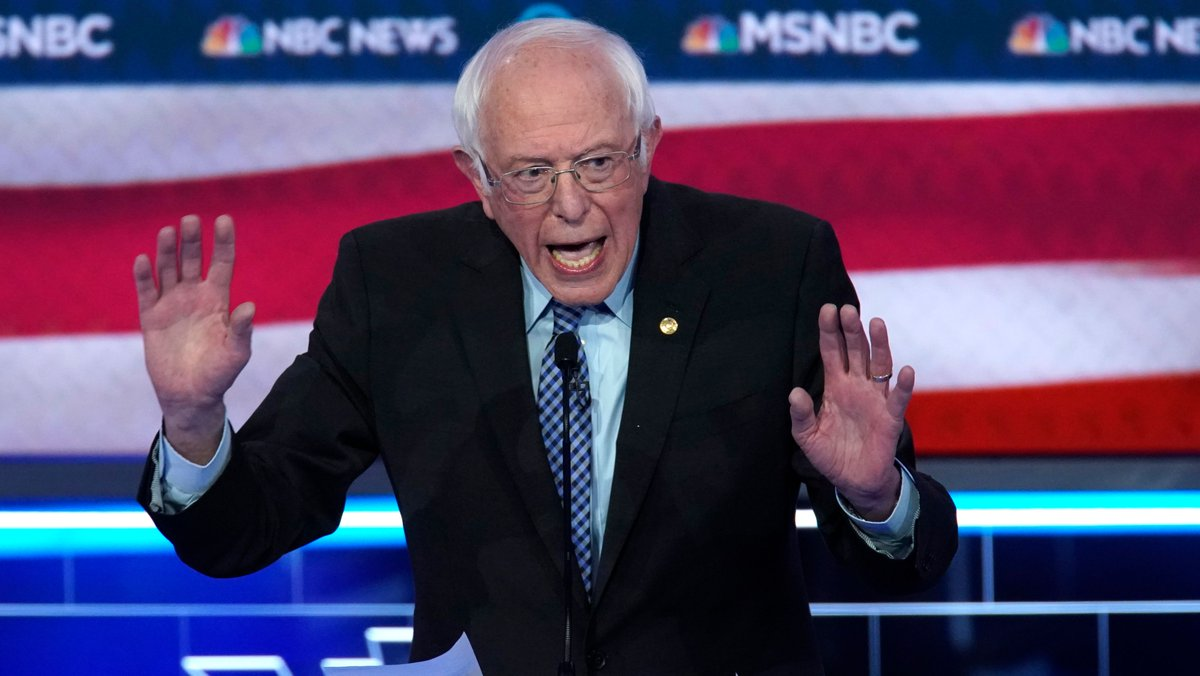 Even after Hillary Clinton secured the *majority* of pledged delegates in 2016, Bernie Sanders said she should not be the nominee.Now, Sanders says the candidate with a *plurality* of pledged delegates should be the nominee.https://www.washingtonpost.com/politics/2020/02/20/bernie-sanders-pushed-contested-convention-2016-now-he-wants-avoid-one/…