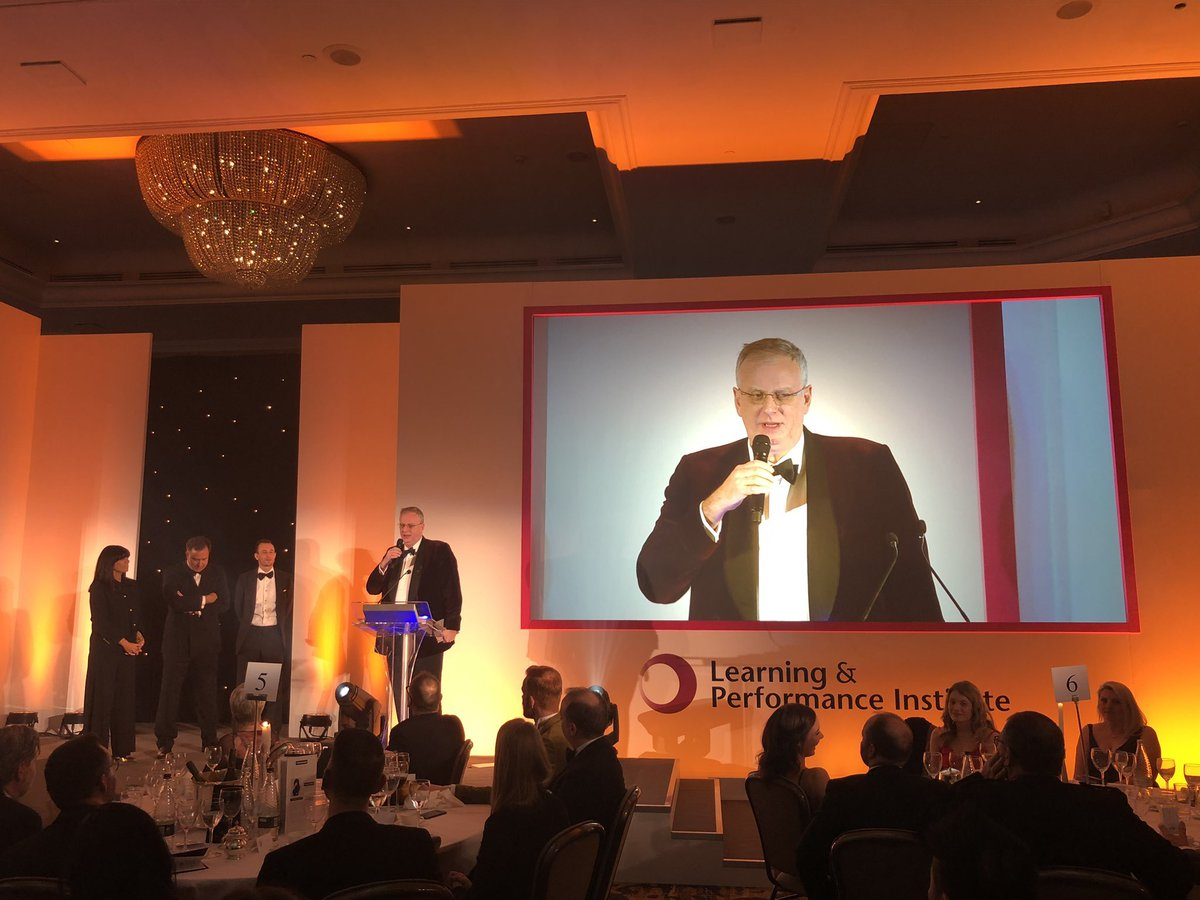 Congratulations for hosting the 24th #LearningAwards @edmundmonk - professionally done as ever Ed! #ProudOfYou