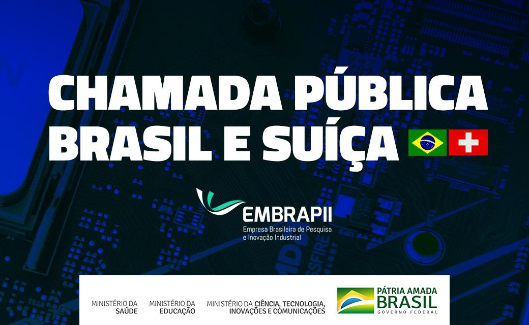 A EMBRAPII e a Swiss Innovation Agency (Innosuisse) abrem chamada pública para a seleção de propostas de PD&I, em conjunto, de empresas brasileiras e suíças com o objetivo de promover parcerias inovadoras. Saiba mais! http://bit.ly/2wzHxV5 #Pesquisa #Desenvolvimento #Inovação