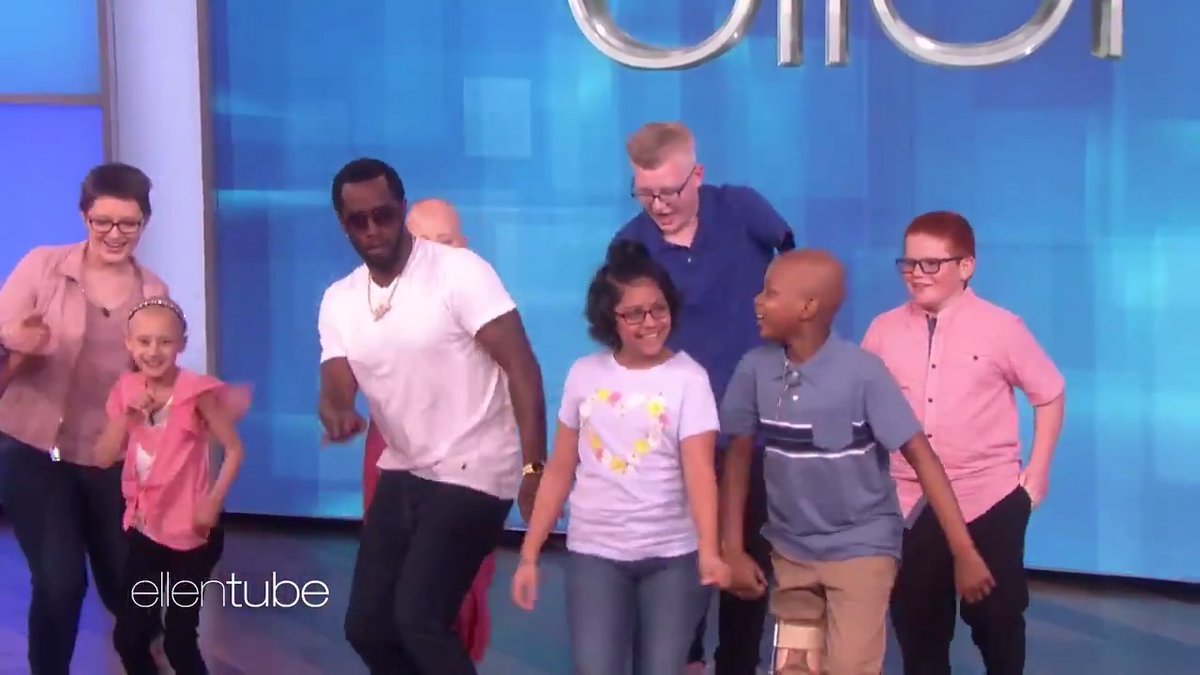 This group of kids had a dream to dance with @Diddy . Today that dream came true.