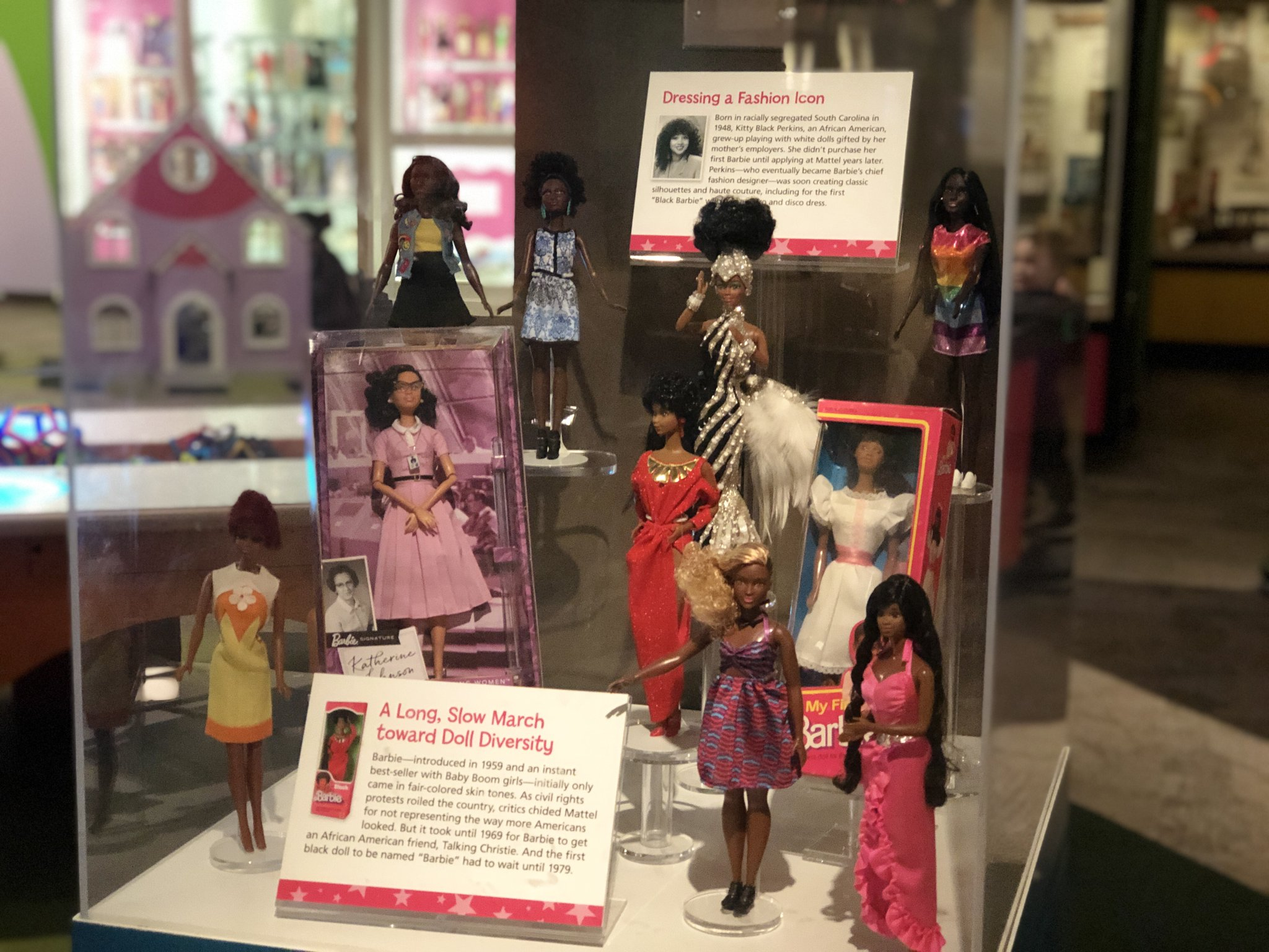 The Strong Museum On Twitter Kitty Black Perkins Served As Chief Designer Of Fashions And Doll Concepts For Mattel S Barbie Line And Worked On Some Of The Company S Most Iconic Dolls Learn