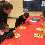 Image for the Tweet beginning: Enjoying games with our families