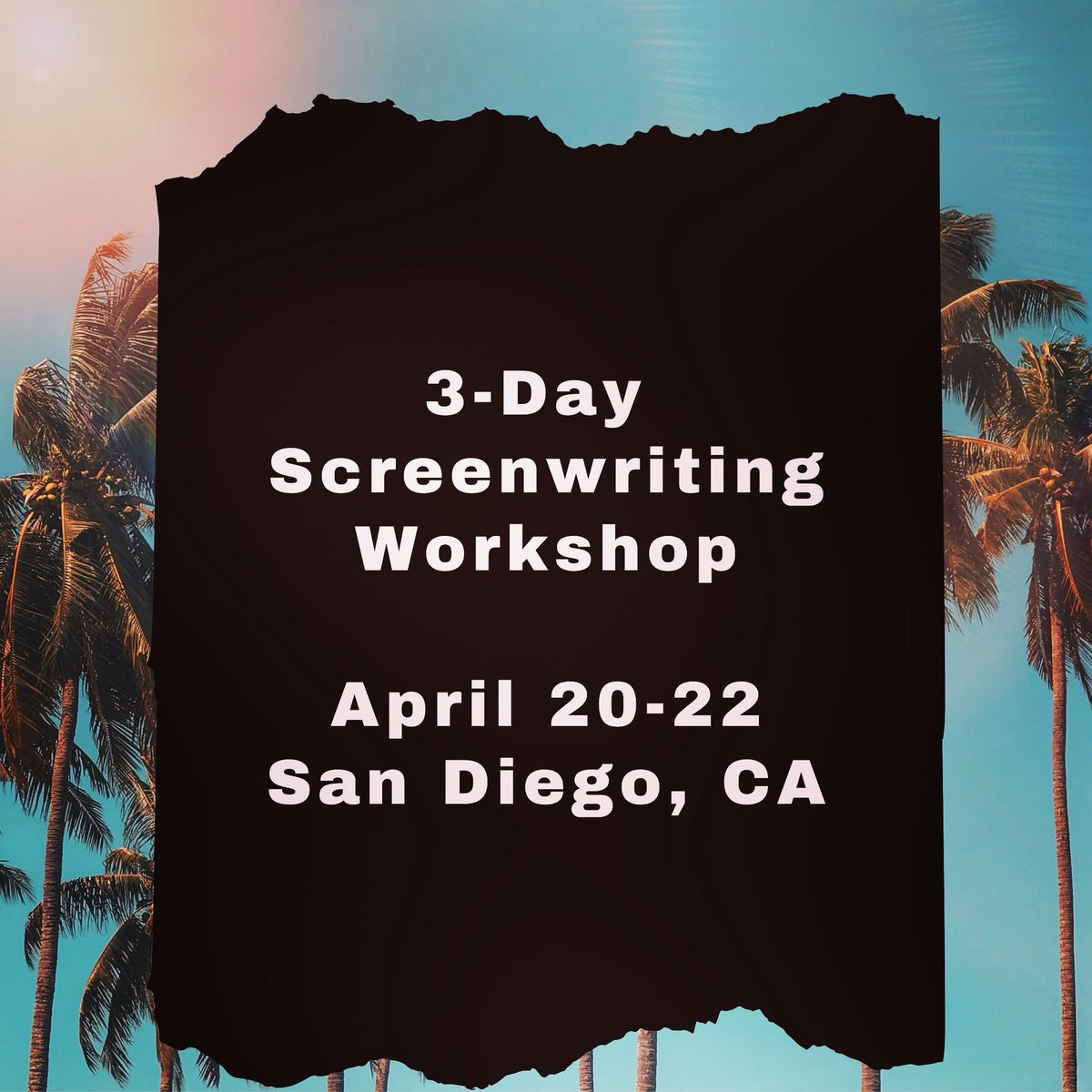 Site will go live Feb. 27!    Email us for more info: hello@socalscreenplay.com  #screenplay #writerworkshop #bestoriginalscreenplay #screenwritingworkshop #script #bestscreenplay #filmproducers #socal #sandiego #sunnysandiego #aspiringwriter #studentwriter #writersblockpic.twitter.com/VILG00Ja1b