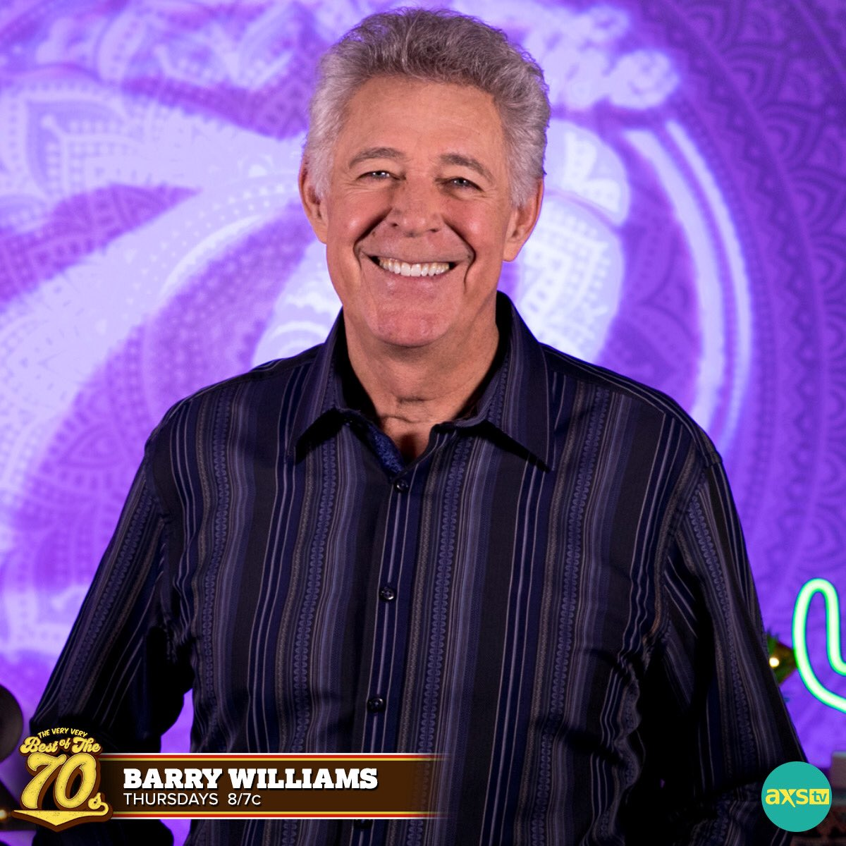 Watch The Very Very Best of the 70s, Tonight at 8/7C on ⁦@AXSTV⁩ #AXSTV #BarryWilliams #groovy