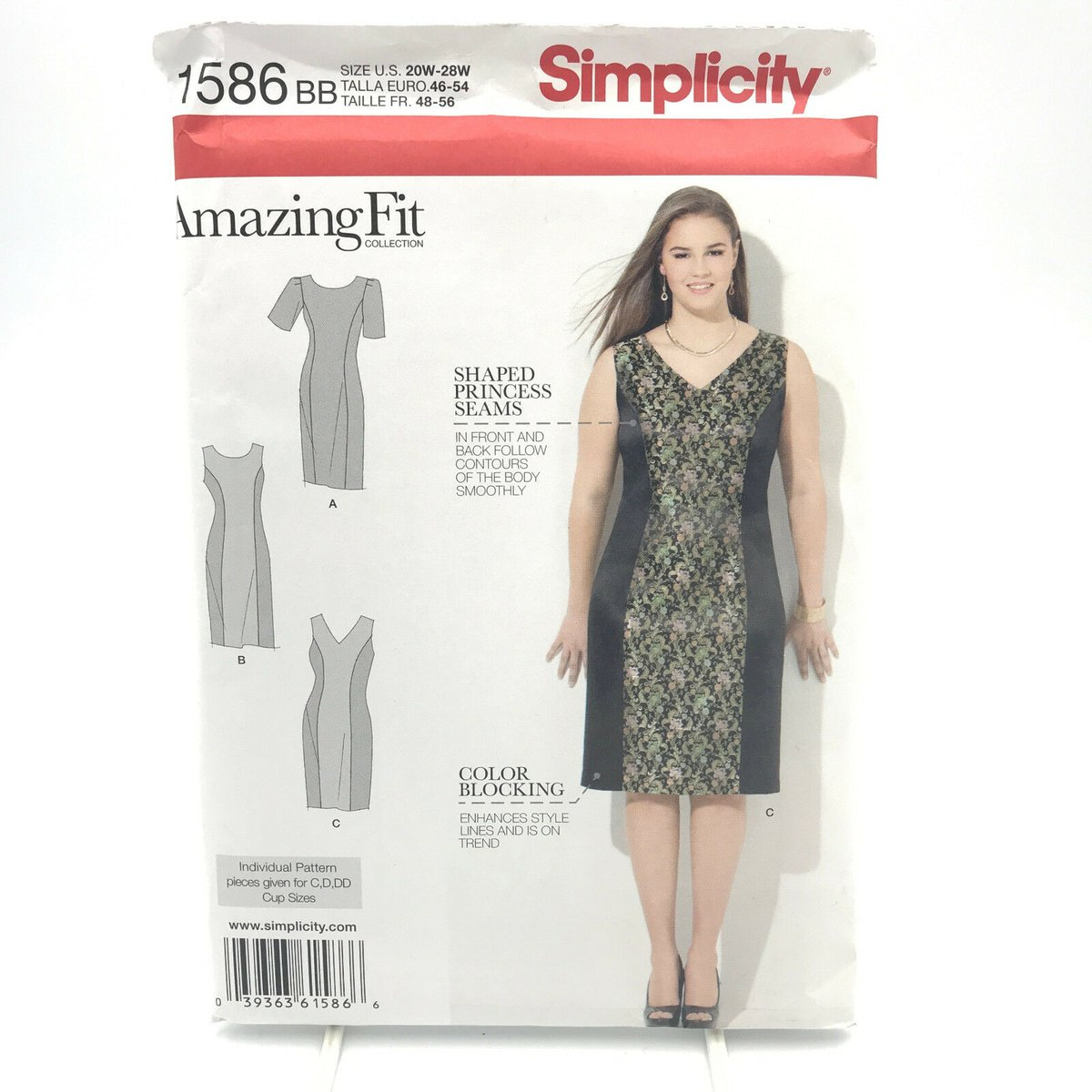 Every woman needs a straight, simple dress in their closet. Or maybe 2. Or 3? Or 4... I'll stop while I'm still ahead. #straight #dress #bodycon #colorblocking #princessseams #vneck #roundneck #modest #plussize #womens #ladies #misses #sewingpattern #ebay https://ebay.to/2vPB2wTpic.twitter.com/IvCCPqKOrf