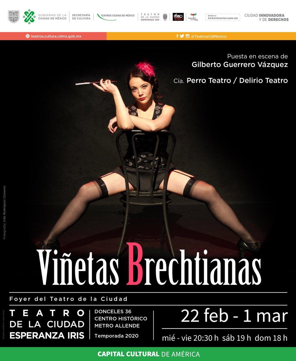 A dos días del inicio de #ViñetasBrechtianas en el Foyer del Teatro de la Ciudad Esperanza Iris.   Del 22 de febrero al 1 de marzo http://bit.ly/22vBtcEI #CupoLimitadopic.twitter.com/T6AdzK7Dgf