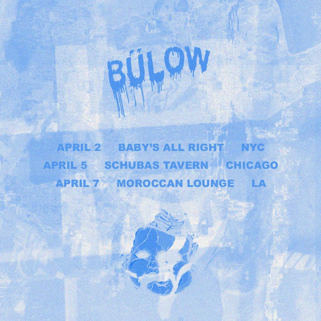 You (& Jennifer) should get tickets to @bulow on Tuesday, 4.7! Here's the link to get em: bit.ly/38Mzjam