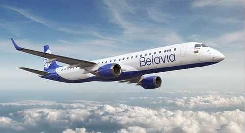 #AerCap today announced it has signed an agreement with #Belavia for the lease of 3 new #Embraer E195-E2 aircraft. The first aircraft is scheduled to deliver in December 2020, with the remaining two aircraft delivering in March and April 2021.  #aviation #avgeek #avgeeks #belaruspic.twitter.com/LKmUZyBsxW