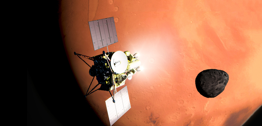 Japan's space agency said Thursday it has approved a robotic mission to retrieve a sample from the Martian moon Phobos for return to Earth to begin full development for a planned launch in 2024. FULL STORY: https://t.co/bNlruLdbOG