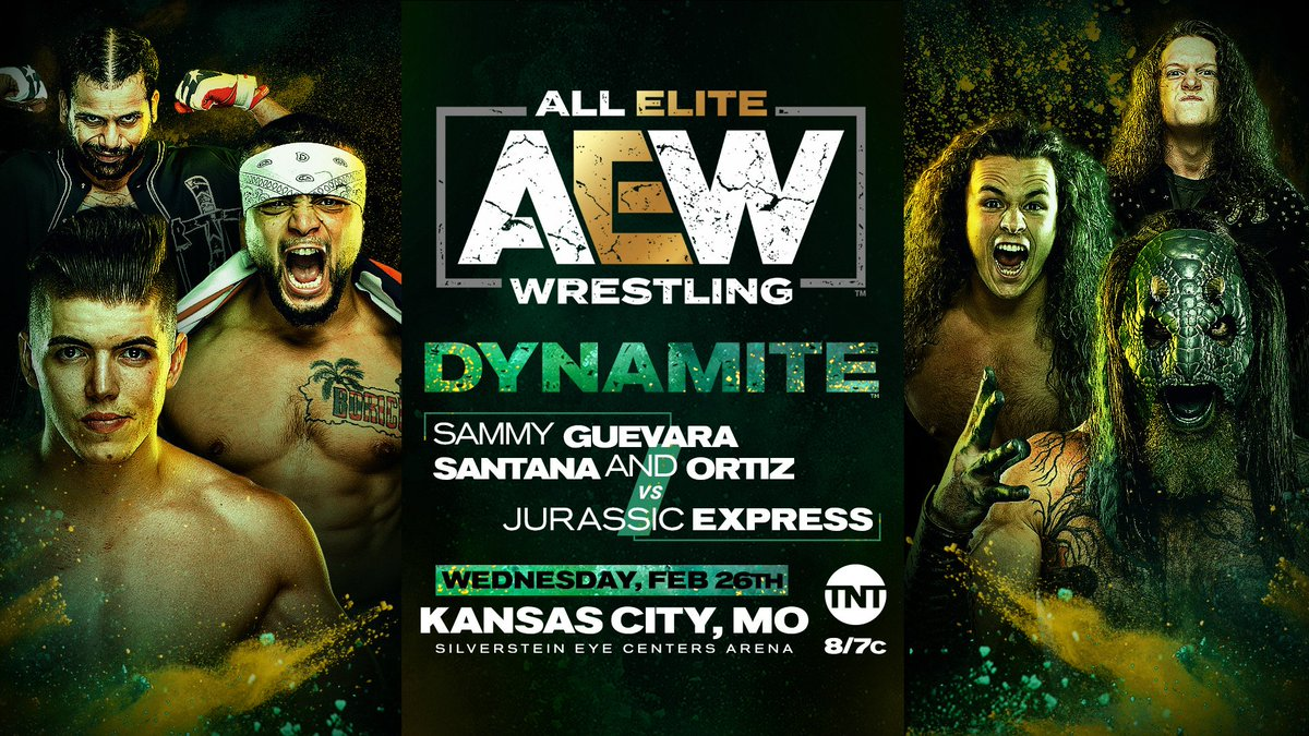 Jurassic Express Vs. Inner Circle 6-Man Tag Bout Set For AEW Dynamite Next Week