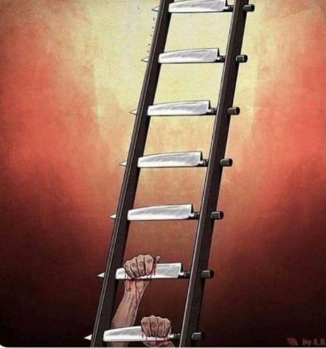 Climbing the ladder of #success.  This is very accurate, cause so many people make success harder then it needs to be. That's why we need to be #focused, #worksmart, #innovative think how to #improve the flow.   In the #process might find the solution/key and Flip the ladderpic.twitter.com/AeB9KlqS3e