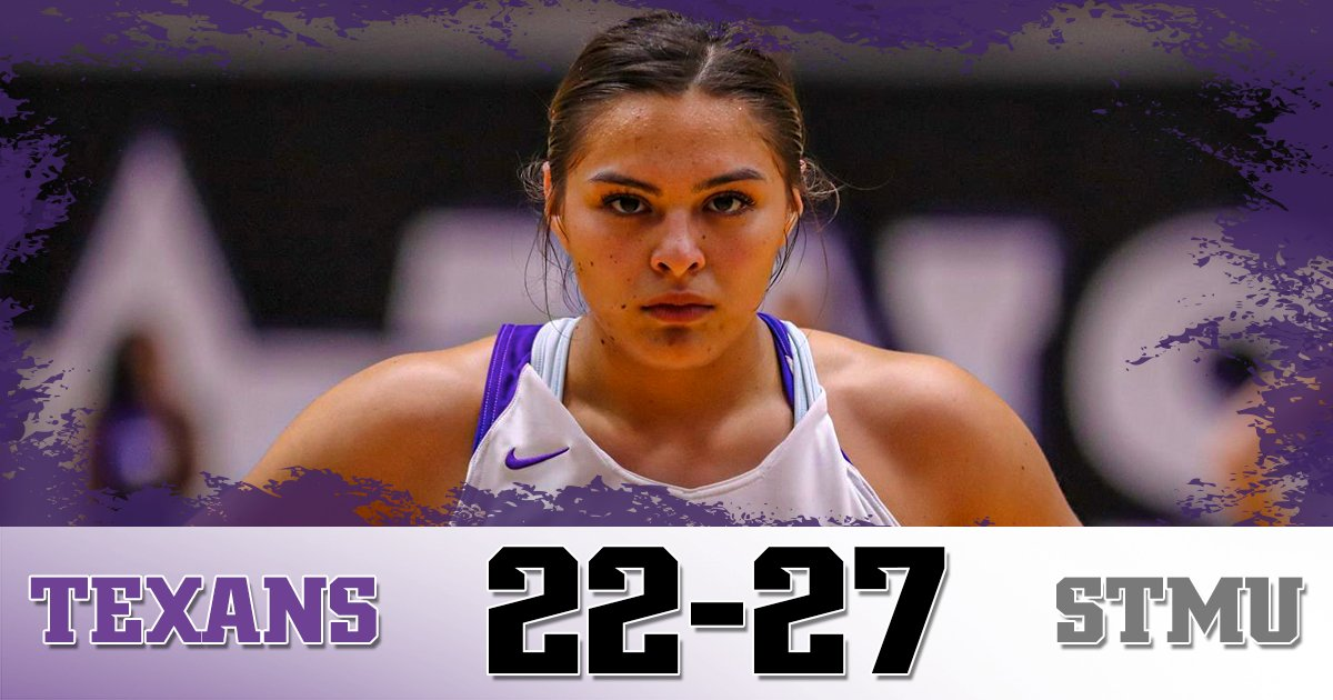 Tarleton heads into the locker room trailing by five at the half. The next 20 minutes starts right now 😈