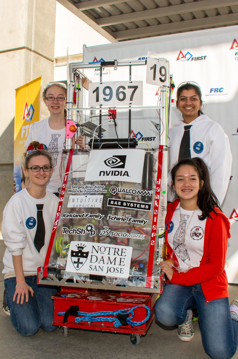 #throwbackthursday to Grace from Central Valley Regional in 2015! We are eager to show off our robot this Saturday at Robot Reveal Night, and are looking forward to competing soon!  #robotics #frc #kickoff2020 #infiniterecharge #girlsinSTEM #omgrobots #bowsnrobots https://t.co/7Q7NCV3rTB