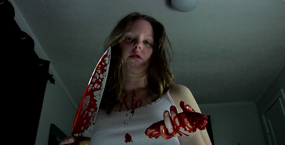 What is that in her hand? And I don't mean the knife!  LUCID (wake up!)  FREE ON AMAZON PRIME! http://bit.ly/Lucid_onAmazon  #supportindiefilm #nightmares #baddreams #psychologicalthriller #indierightsmovies #seeyouinyourdreams #freeonamazonprime #freemovies #indiehorrorpic.twitter.com/XsBESX7R6M