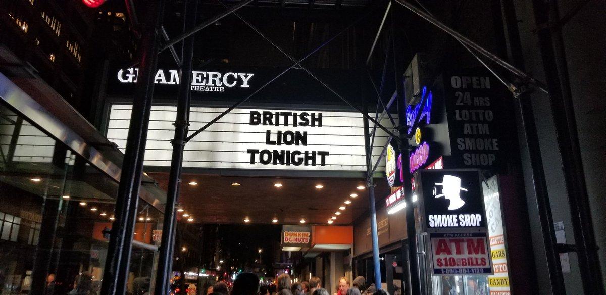 Tonight's festivities....  #BritishLion pic.twitter.com/VT0GnEiLRk