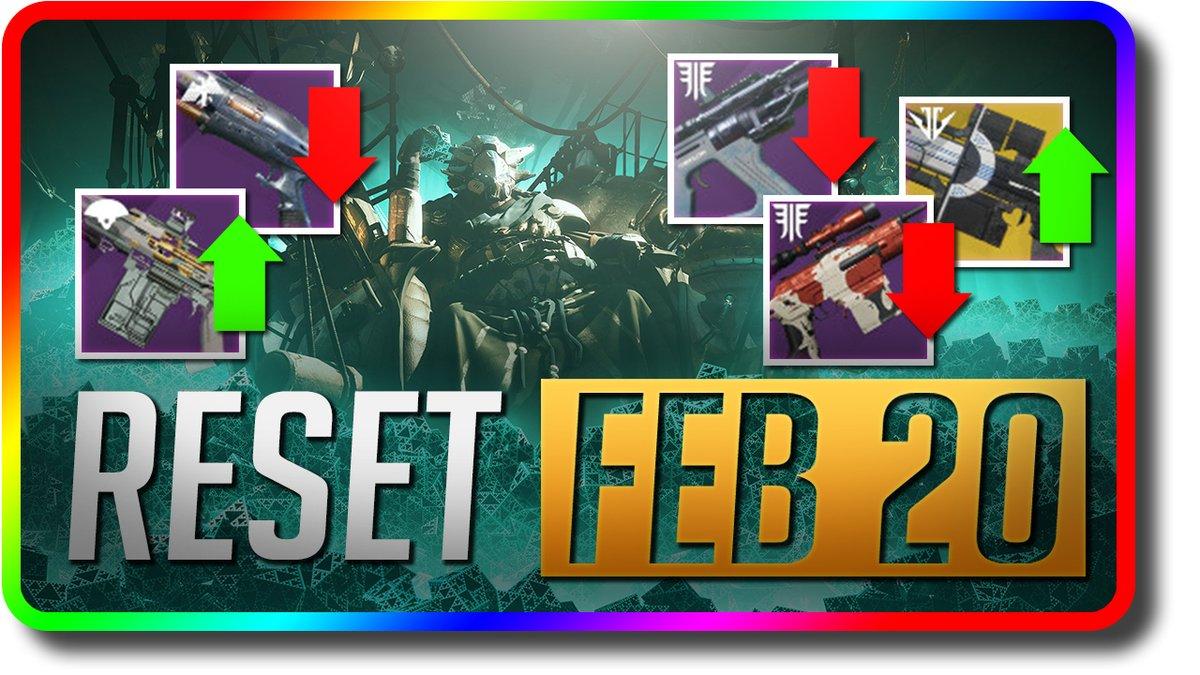 Destiny 2 News - Gun Nerfs & Gun Buffs (Destiny 2 This Week at Bungie February 20) https://youtu.be/bUqEmIl7ccw . #destiny #destiny2 #shadowkeep #gaming #videogames #bungie #PS4gamer  #gamer #destinythegame #bungiedestiny #hunter #titan #warlock #gambit #destinyhope #destinyhypepic.twitter.com/9U0hB9qC2p