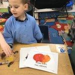 Image for the Tweet beginning: Wonder Day in kindergarten! They
