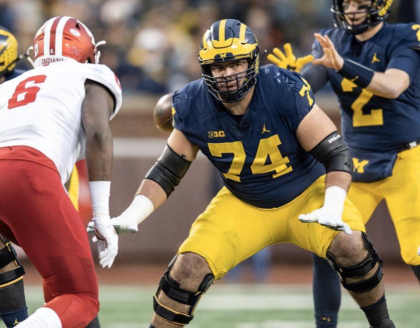 Michigan football recruiting 2021 OT Marcus Mbow sets visit Ann Arbor
