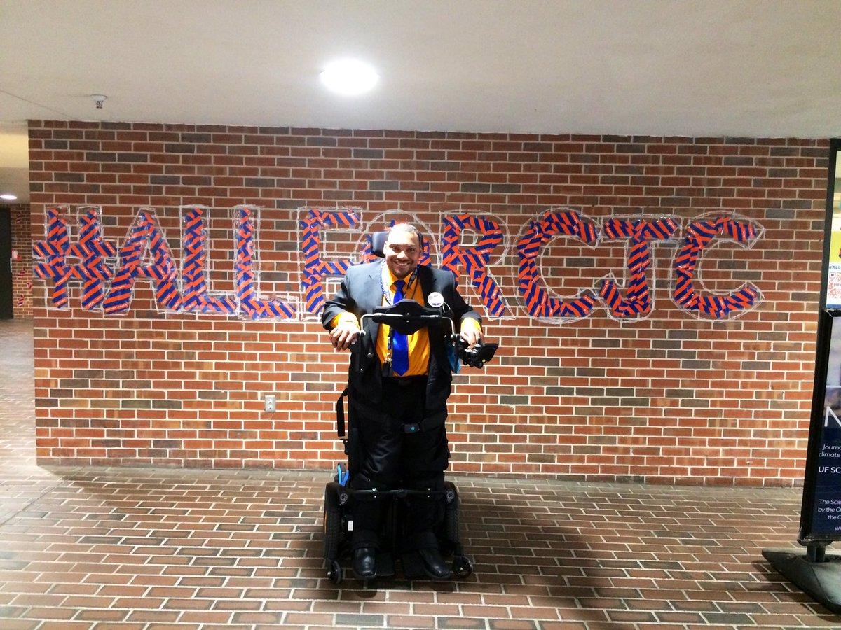 I 🧡 the @UFJSchool! 💙🐊 #AllForCJC