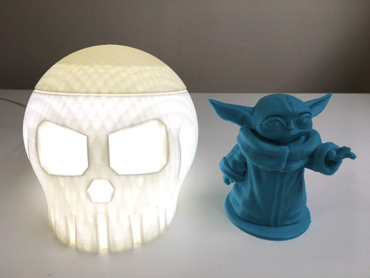 3D printed Valentine's Day gifts 🖤  #3dprinting #babyyoda #babyyoda💚 #thechild #themandalorian #skulls #valentinesday2020 #valentines
