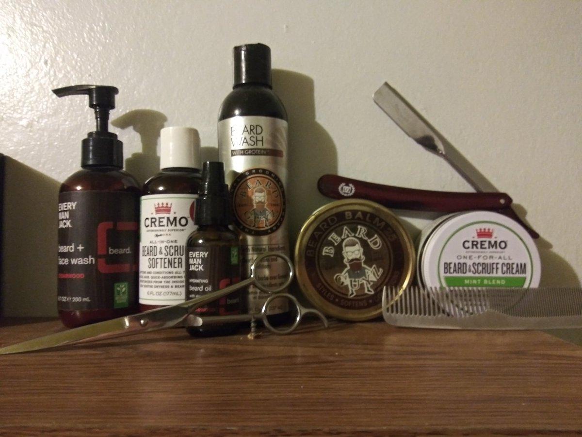 The rest of my beard collection #Beardedlifestyle #Beardcare #beardgang #beardmanpic.twitter.com/AkCdKo0lqP