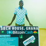 Image for the Tweet beginning: Bitcoin Cash House Ghana Finds