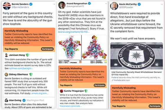 """2/n Funny to be in @BernieSanders' company but on a serious note the rank ignorance of @twitter is APPALLING. What I tweeted was an ms submitted to a reputed science pre-print site BioRxiV. I quoted the findings of the scientists & gave the link. How was I """"Harmfully Misleading""""?"""