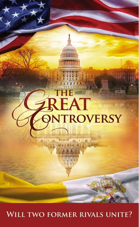 "Rev 13:8 (KJV) And all that dwell upon the earth shall worship him, whose names are not written in the book of life of the Lamb slain from the foundation of the world.  ""The Great Controversy"" by Ellen White Audio https://ellenwhiteaudio.org/great-controversy/ …  Order book: https://remnantpublications.com/index.php/the-great-controversy-will-two-former-rivals-unite.html …pic.twitter.com/C5l0Dv373z"