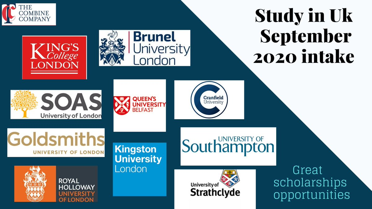 #Thecombinecompany #studyabroad #overseaseducation #Abroadstudies #UK #London #freecounseling #careerguidance #globaleducation #abroadeducation #application  #scholarships #visa #May2020 #September2020 Enquire with us for admissions to 100+ leading universitiespic.twitter.com/eu6Ft8PN8c